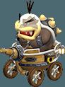 Morton Koopa Jr in Mario Kart 8