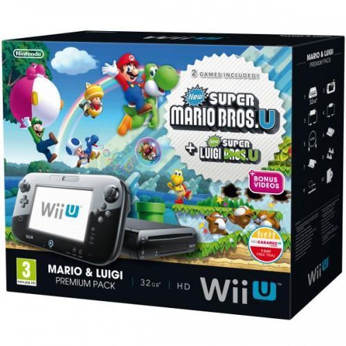 Mario & Luigi: Wii U 32gb Premium Pack