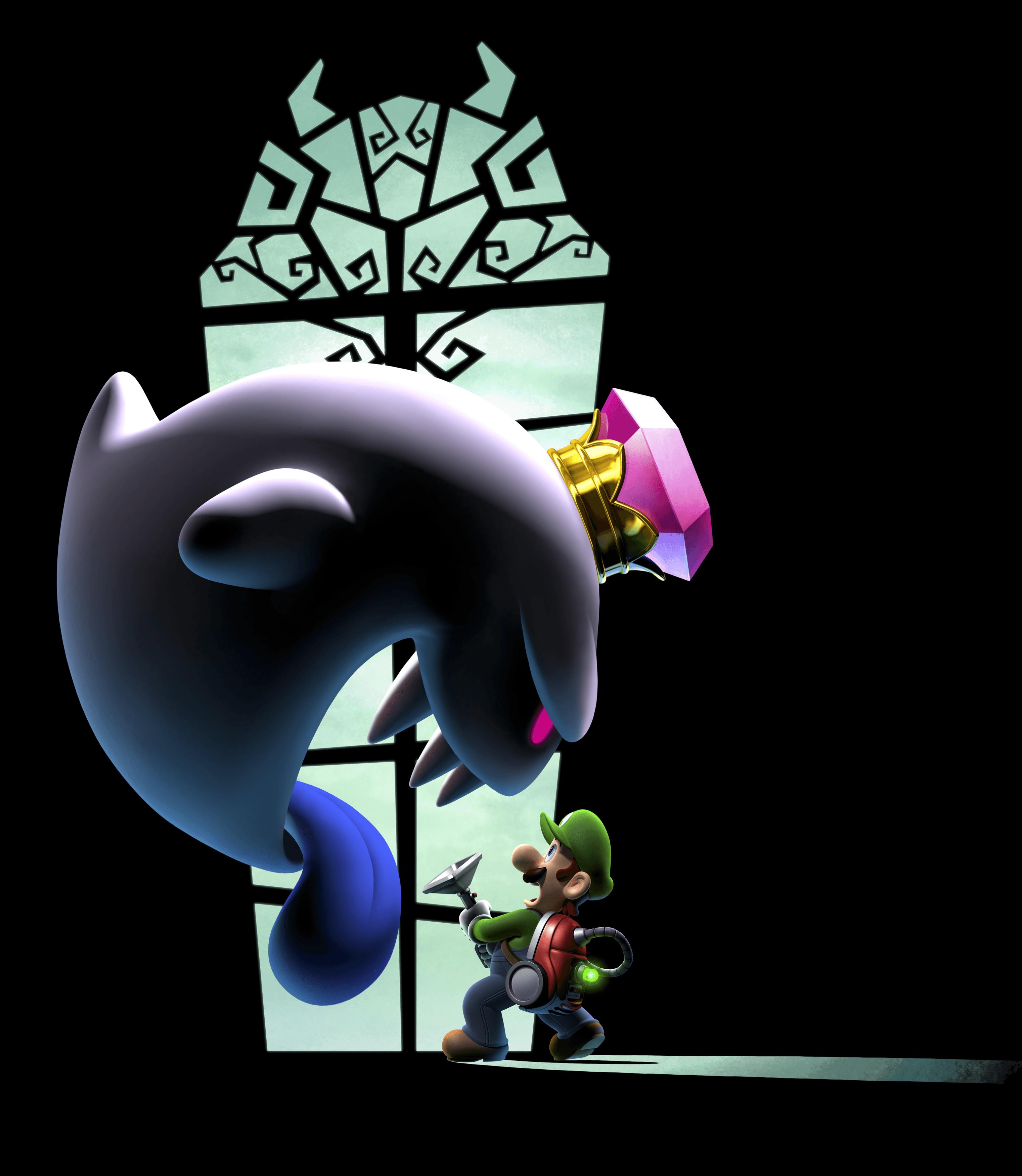 Luigi S Mansion 2 Dark Moon Nintendo 3ds Character Ghost