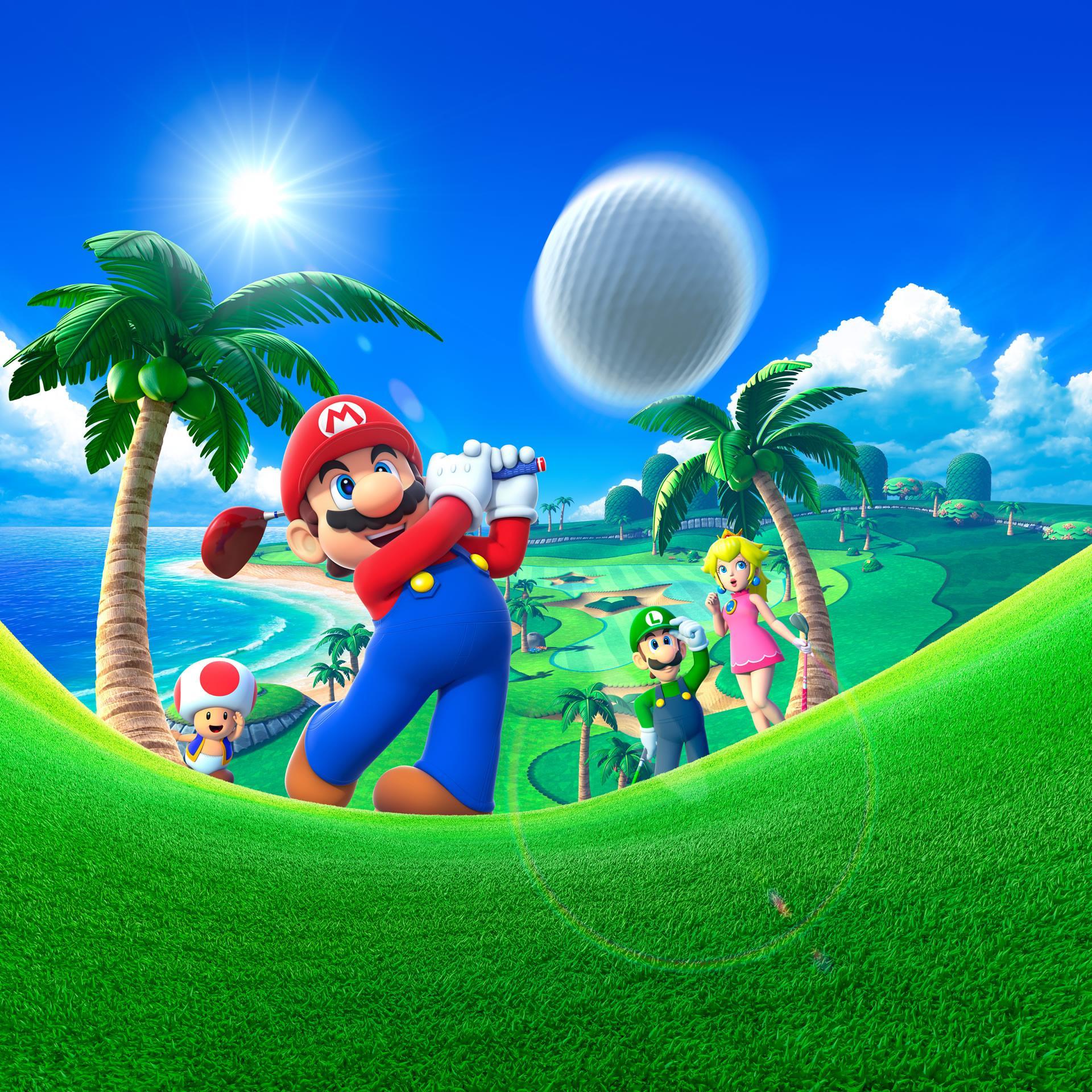 Mario Golf World Tour Nintendo 3ds Misc Artwork