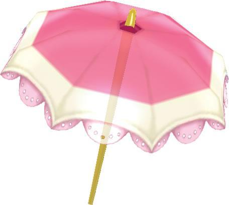 Peach Parasol