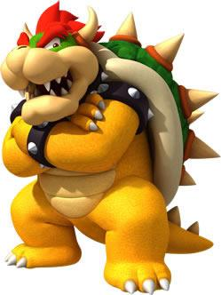 Bowser With Arms Crossed