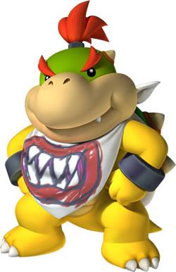 Bowser Jr Ready for Dinner