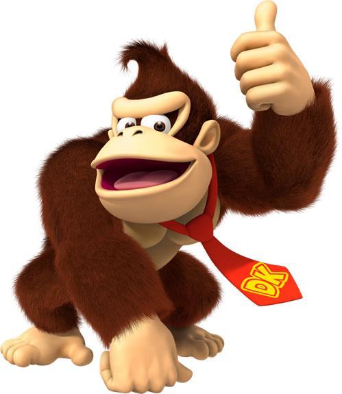 Donkey Kong Posing