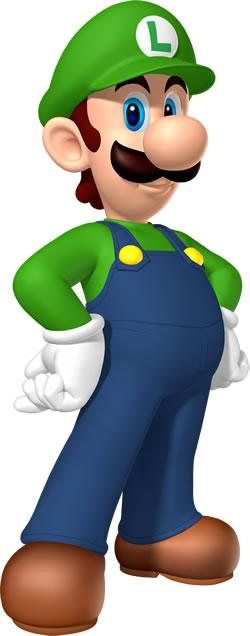 Luigi Posing