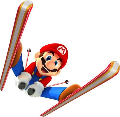 Mario Skiing
