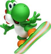 Yoshi Snowboarding