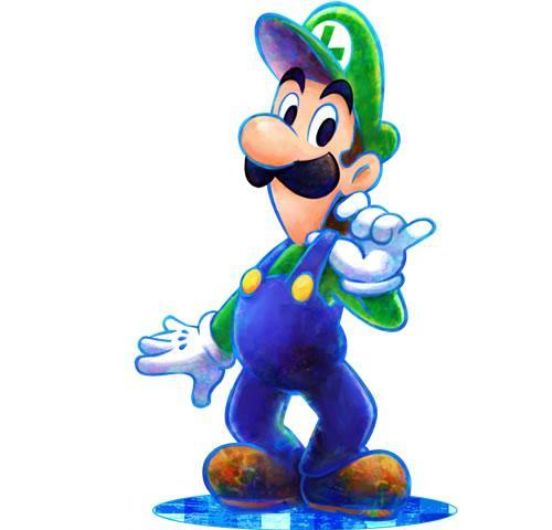 Luigi in Mario & Luigi Dream Team