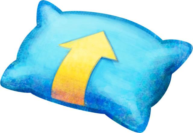 Blue Pillow in Mario & Luigi: Dream Team