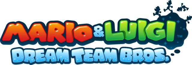 Mario & Luigi: Dream Team european logo