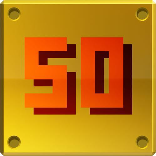 50 golden block