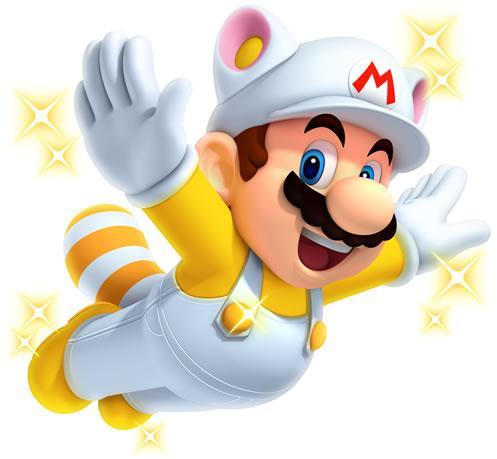 White Raccoon Mario