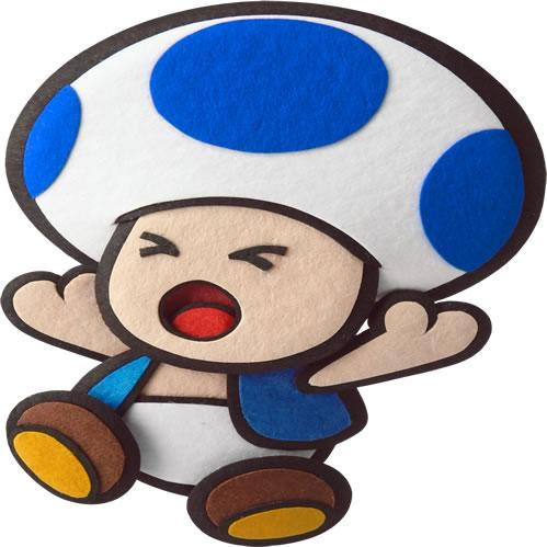 Blue Toad Hurt