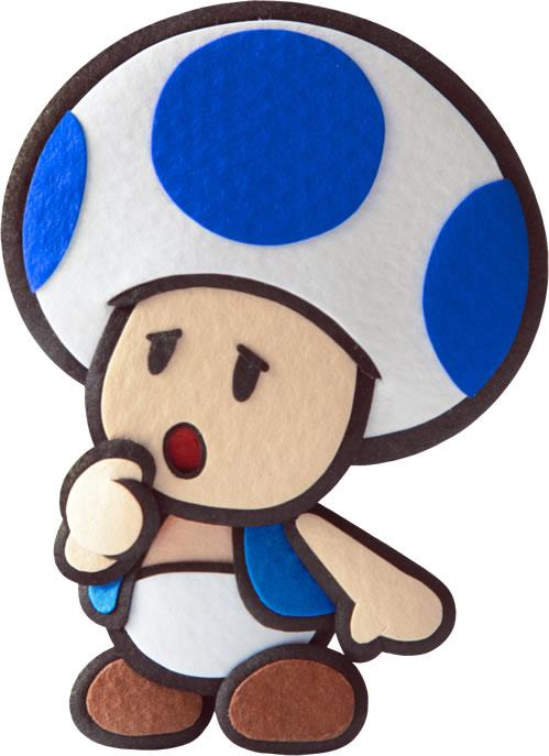 Blue Toad worried