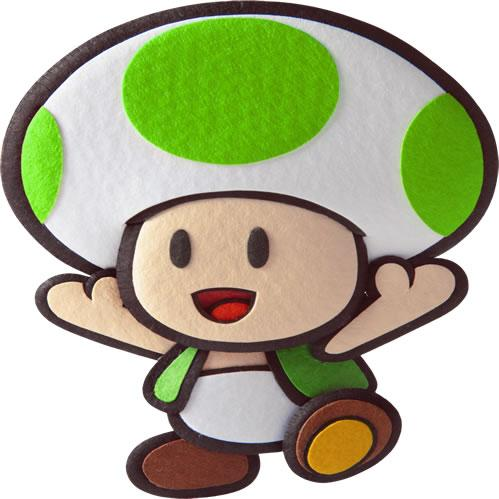 Green Toad Happy