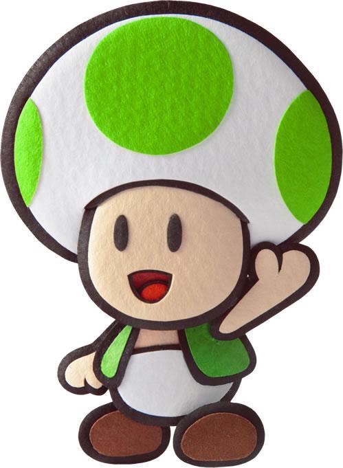 Green Toad waving