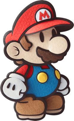 Mario standing