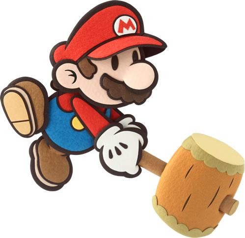 Mario with his Hammer