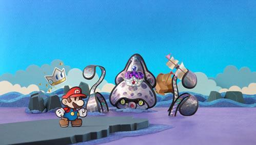 Mario and Kersti facing Gooper Blooper