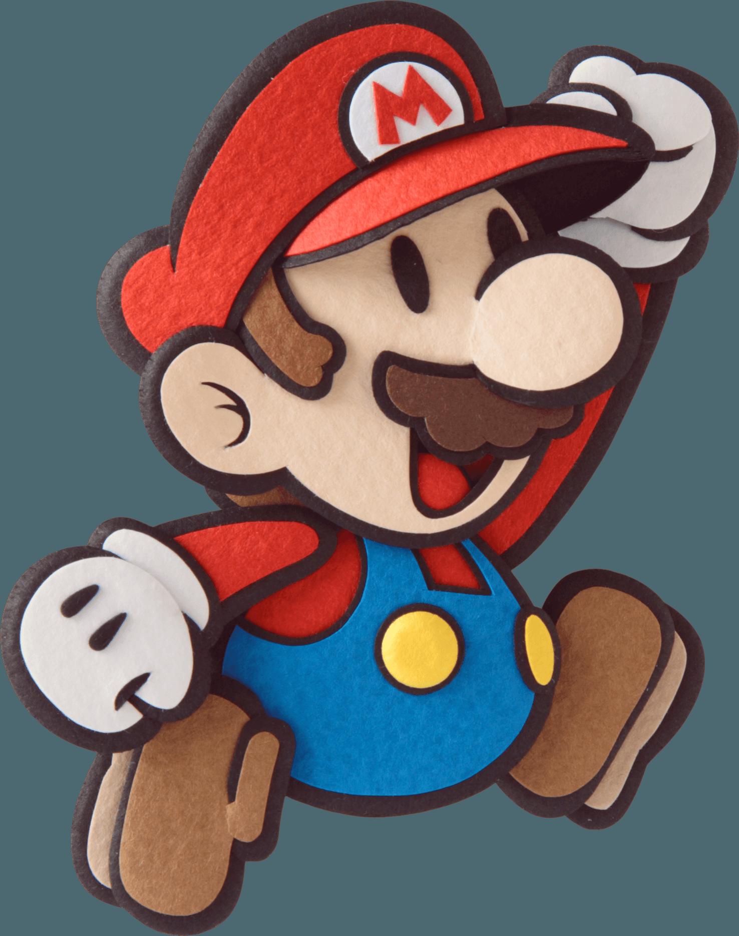 Paper Mario Sticker Star Blue Toad