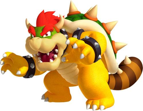 False Bowser with a Tanooki