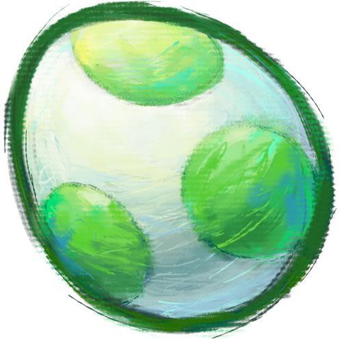 Yoshi Egg Green