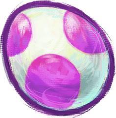 Yoshi Egg Purple