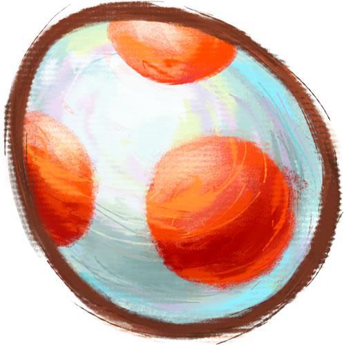 Yoshi Egg Red
