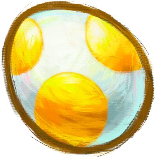 Yoshi Egg Yellow