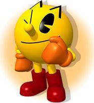 Pac Man Winking