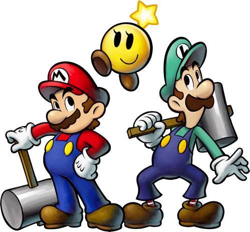 Mario Luigi and Starlow