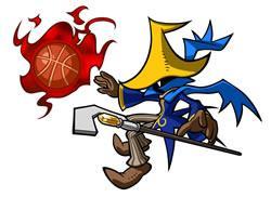 Mario Hoops 3 on 3: Black Mage