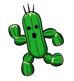 Mario Hoops 3 on 3: Cactuar, seems to have lost the ball
