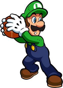 Mario Hoops 3 on 3: Luigi