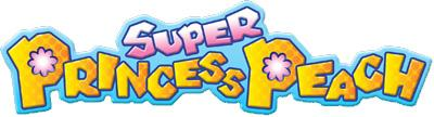 Super Princess Peach logo small
