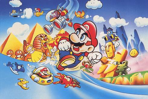 Super Mario Land supporting artwork
