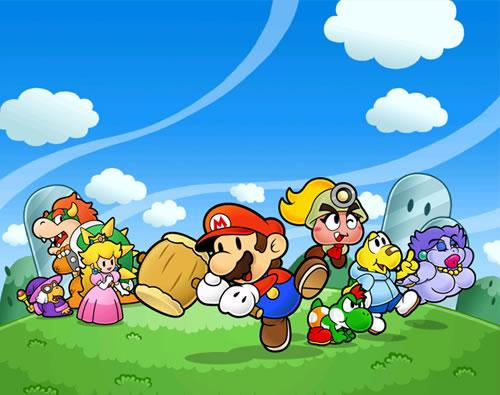 Paper Mario: The Thousand Year Door poster 2 500px preview