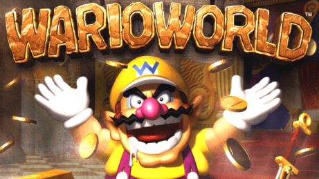 Game Title Logo for Wario World