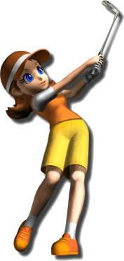 Azalea Playing Golf