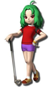 Helen With Golf Club
