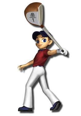 Kid With Golf Club