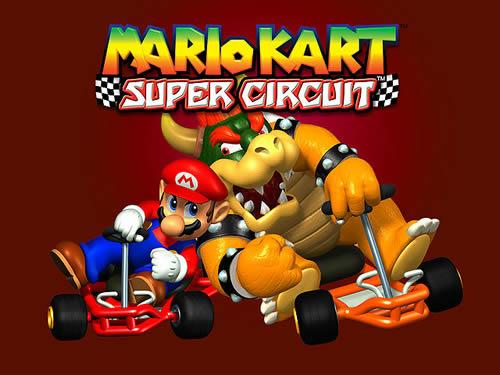 Bowser and Mario go shoulder to shoulder once more in Mario Kart: Super Circuit