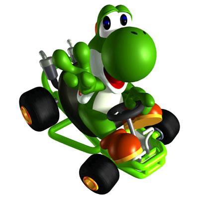 Yoshi Driving Kart