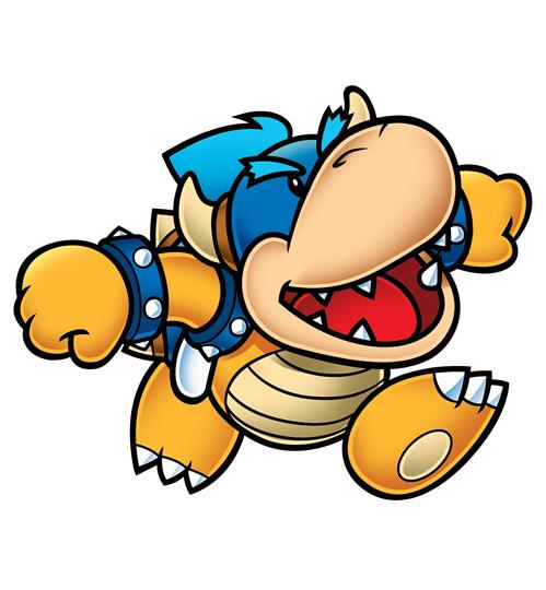 Koopa Kid Blue Running