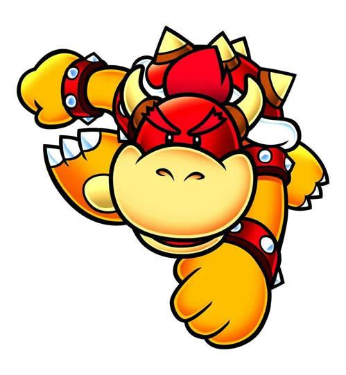 Koopa Kid Red Preparing For Punch