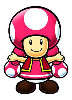 Toadette With Hands Raised