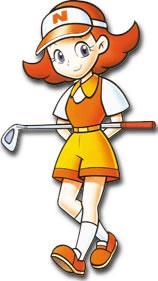 Azaela With Golf Club