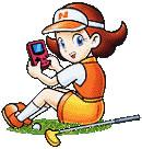 Azalea with Gameboy