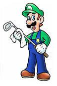 Luigi Cleaning Golf Club
