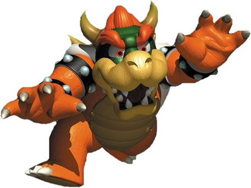Bowser again from Super Mario 64 artwork
